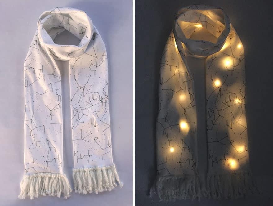 Подарочный шарфик