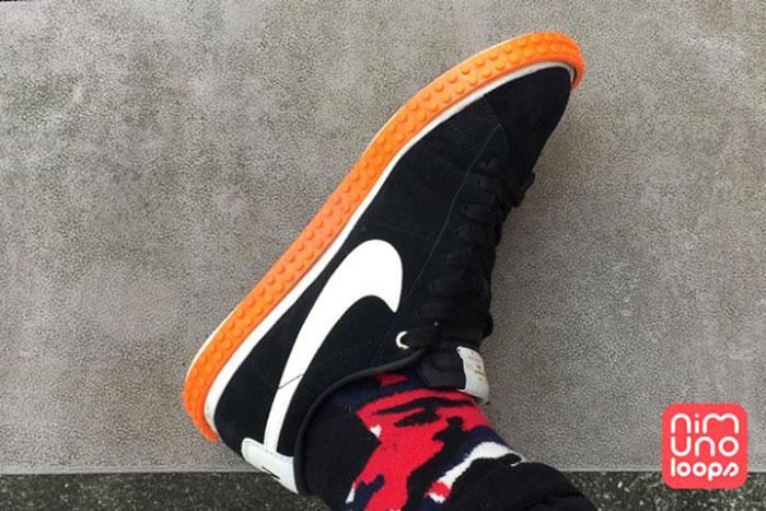 Кроссовки с модным кантом