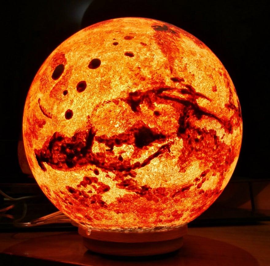 Светильник марс