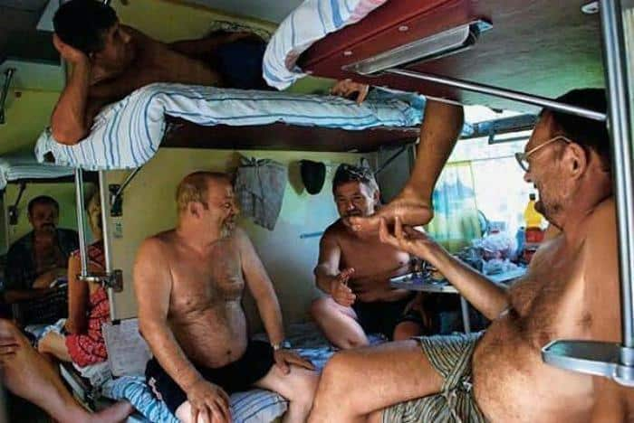 Путешествие в плацкартном вагоне