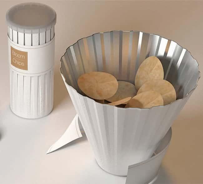 Банка-миска для чипсов