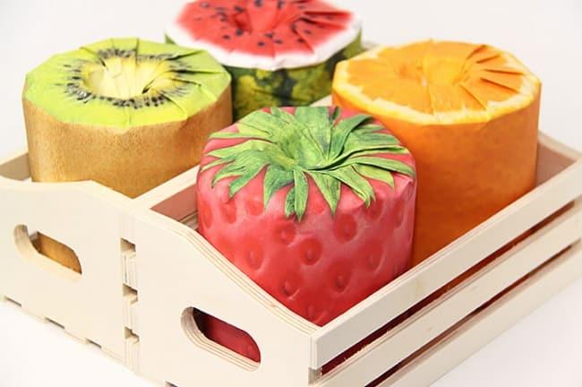 Туалетная бумага с фруктовым запахом