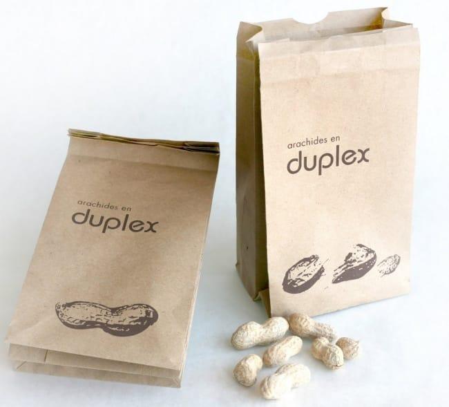 Двойной пакет с орешками