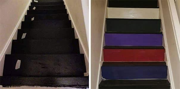 Подготовка к оформлению лестницы