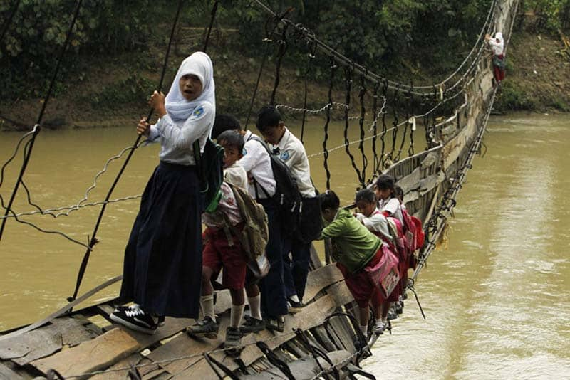 Дорога в школу для детей