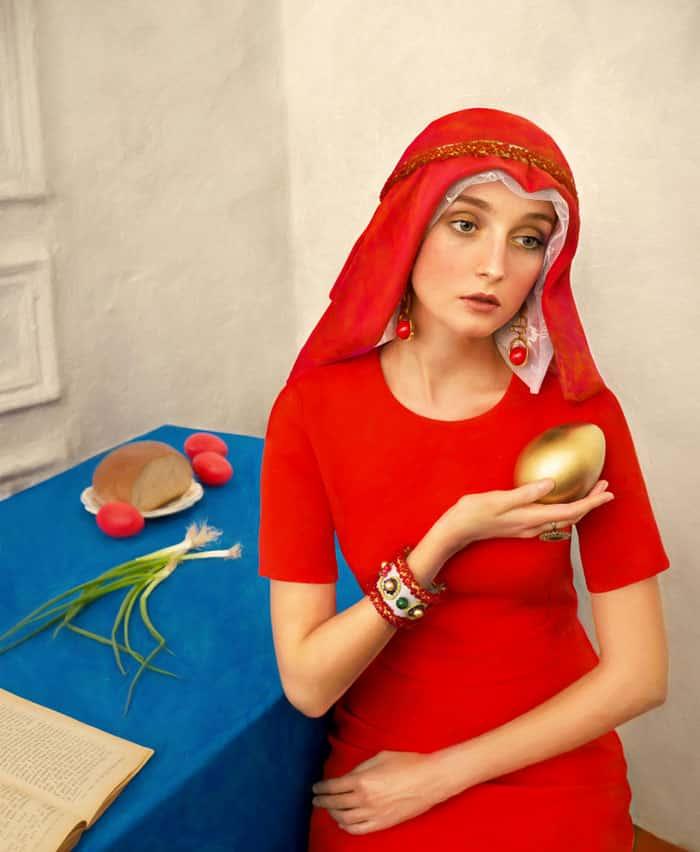 Торжественное платье на Пасху