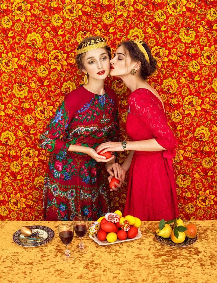 Дует славянских девушек