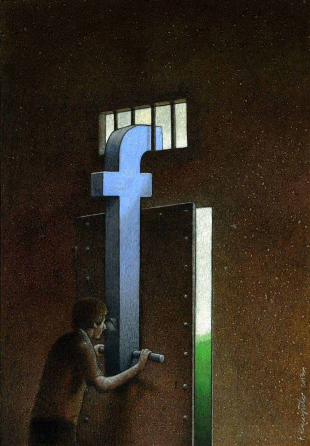 Социальная карикатура 6