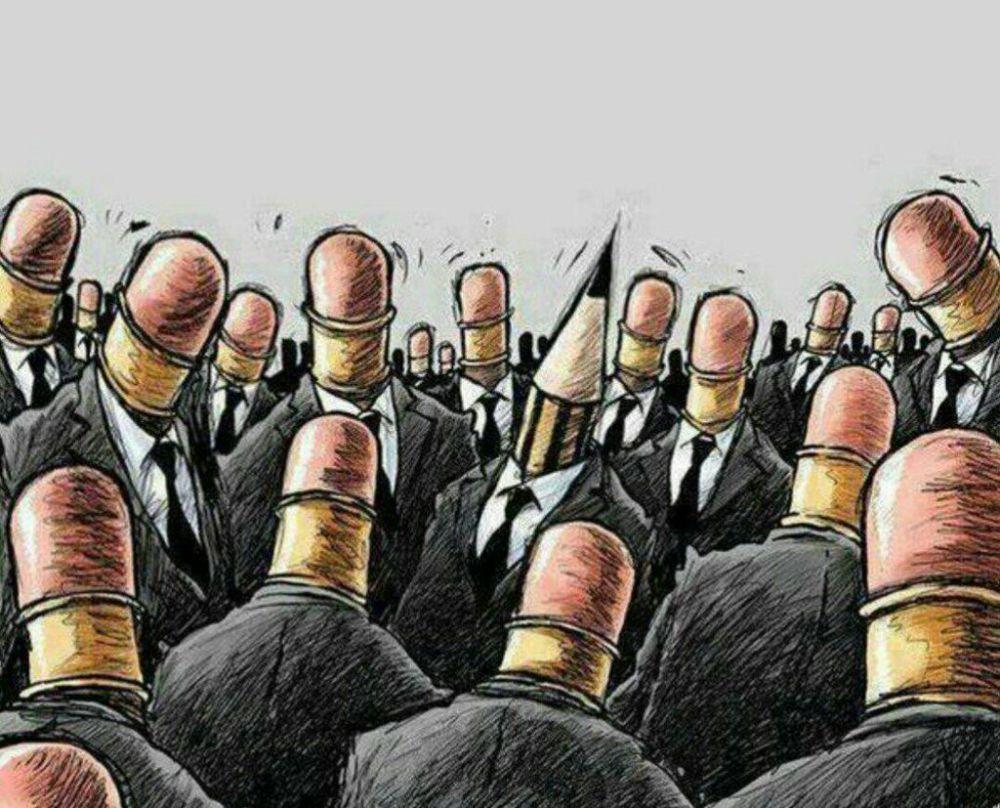 Социальная карикатура 8