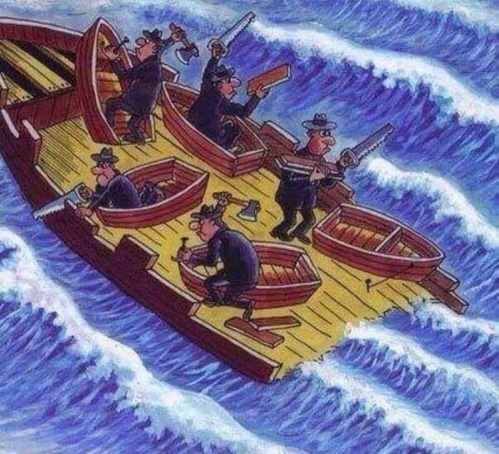 Социальная карикатура