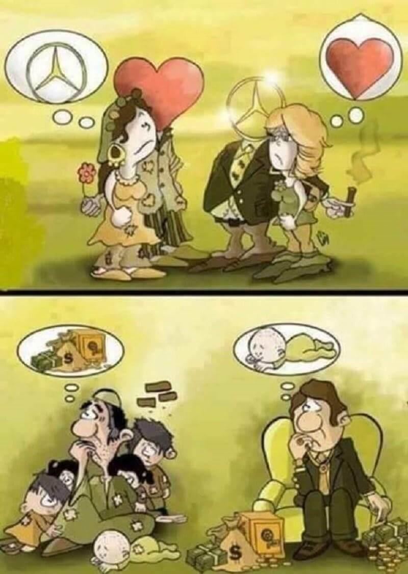 Социальная карикатура 2
