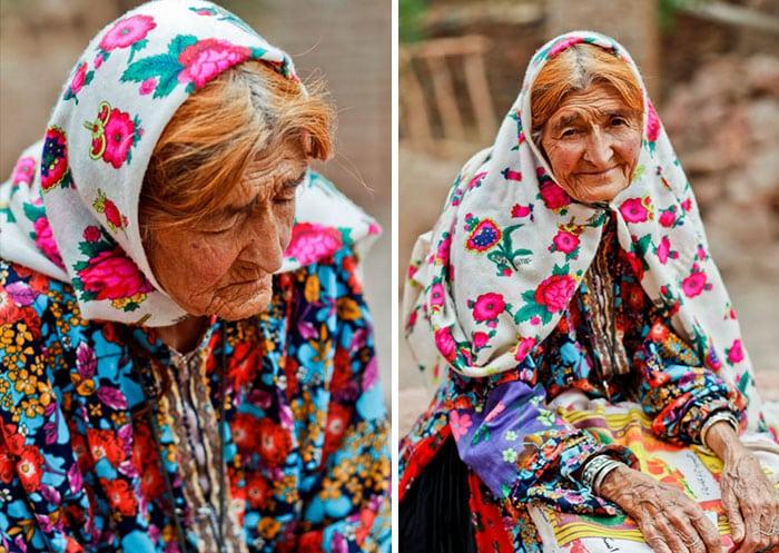 Иранская женщина