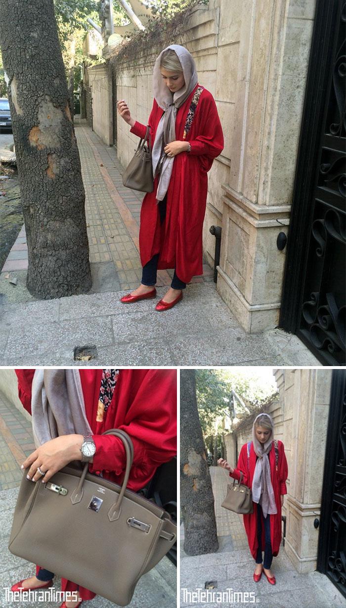 Светская жизнь на улицах в Тегеране