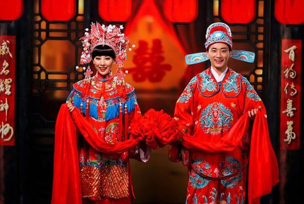 Свадебный наряд в Китае