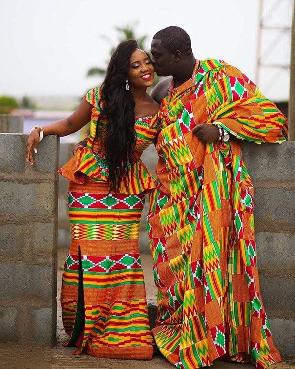 Свадебный наряд в Гане