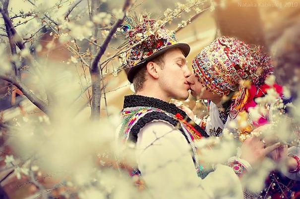 Свадебный гуцульский наряд