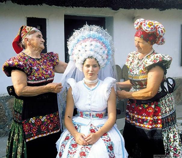 Свадебный венгерский наряд