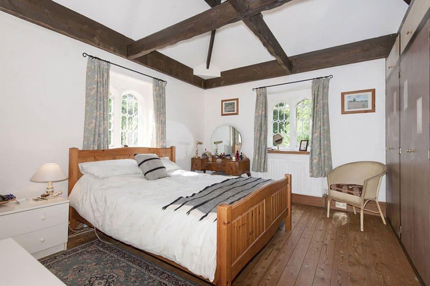 старинный замок - спальня