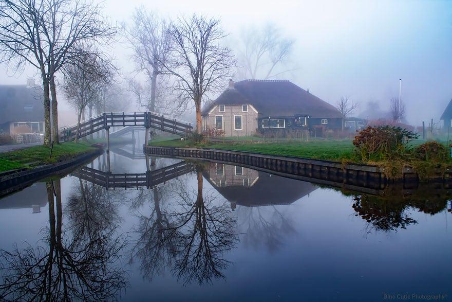 Необычная деревня в Голландии