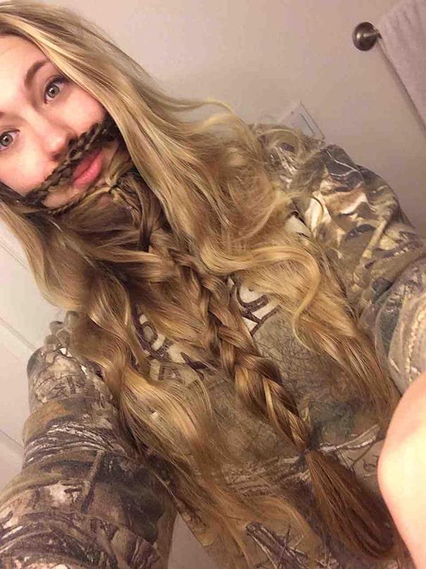 Бородатая красавица