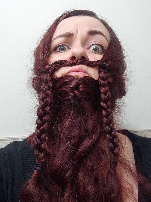 Дамская борода