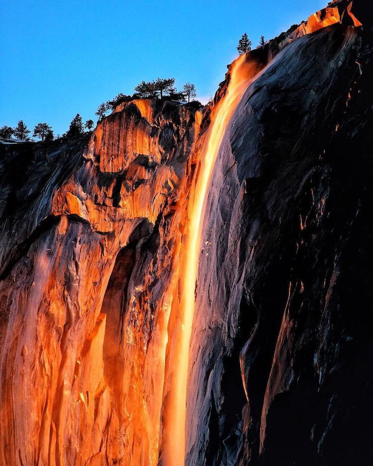 Йосемитский огненный вал