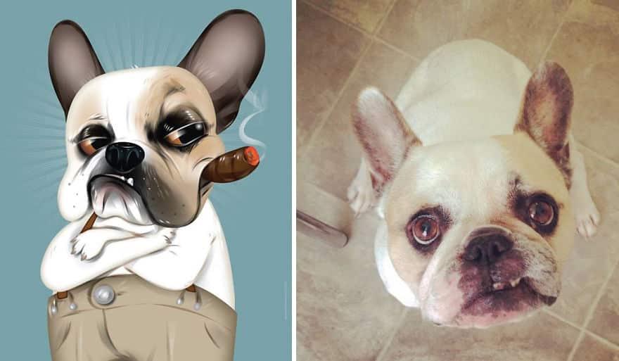 Портрет домашнего животного