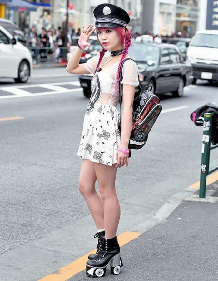 Молодежная мода в Токио