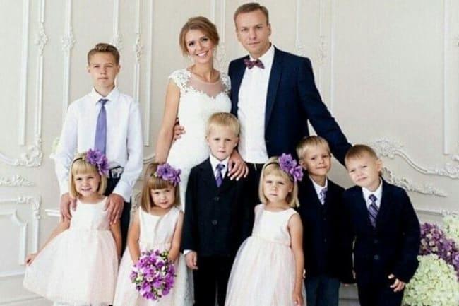 Многодетная семья Антона