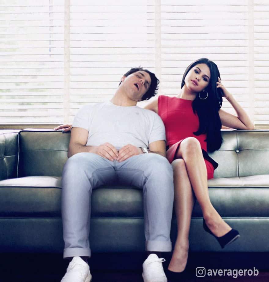 Парень спит со знаменитостями