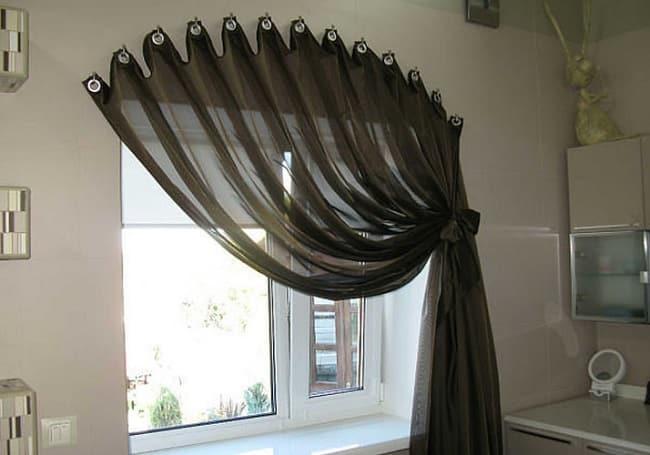 Уникальные шторы на окнах