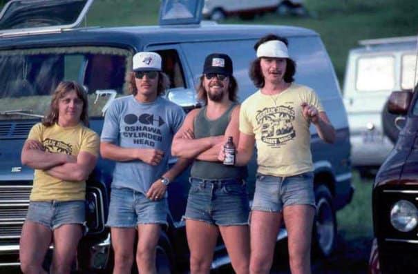 Мужские шорты 70-х