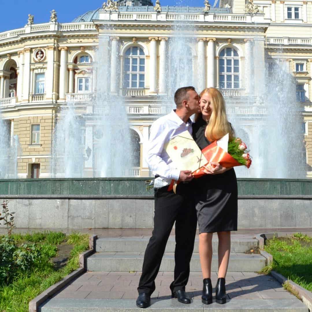 Оксана и Сергей