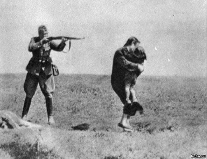 Расстрел фашистами