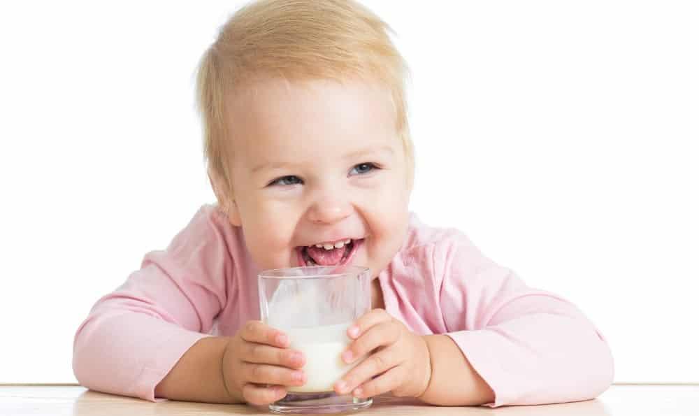 Молоко при высокой температуре у ребенка
