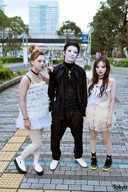 Молодежная уличная мода в Японии