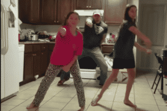 Танец папы