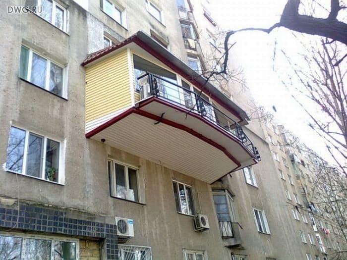 Шедевры балконного зодчества