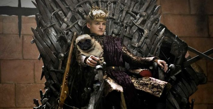 Игры престолов и фотошоп