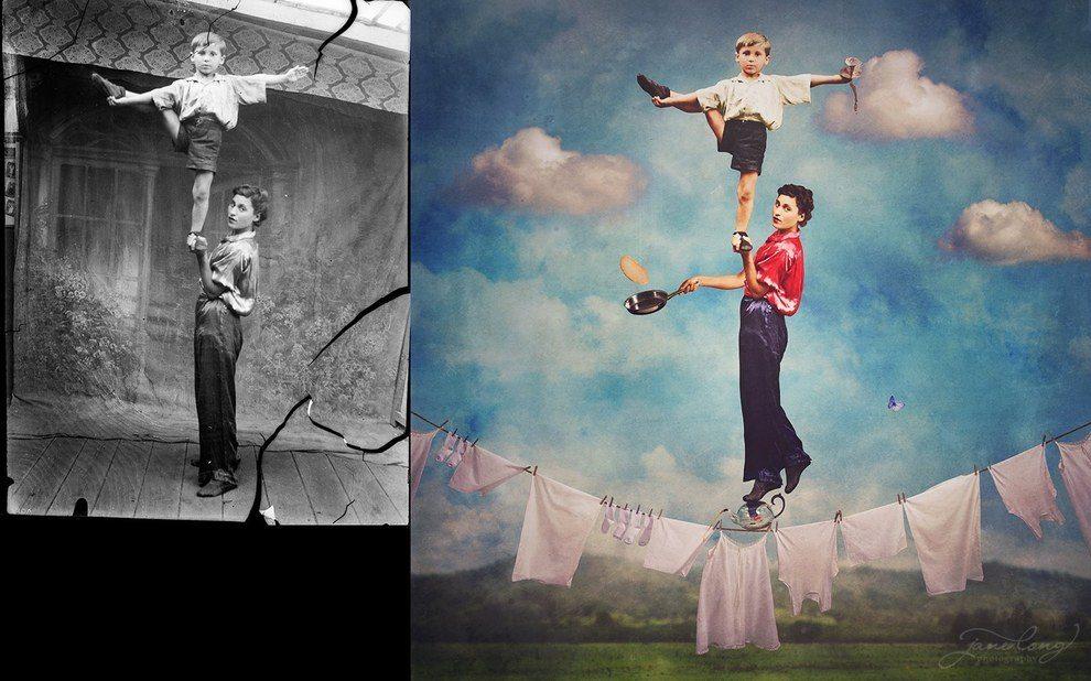 Сюрреалистичные картинки Джейн Лонг