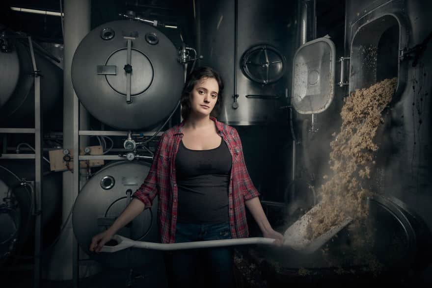 Женщина пивовар