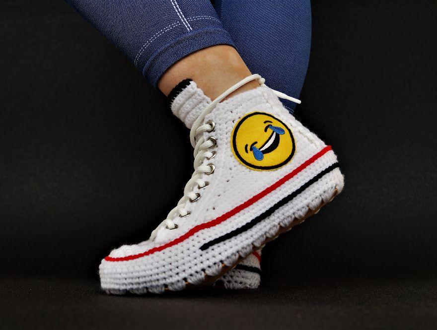 Обувь, сделанная своими руками