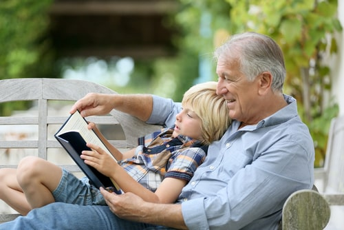 Разлука деда с внуком