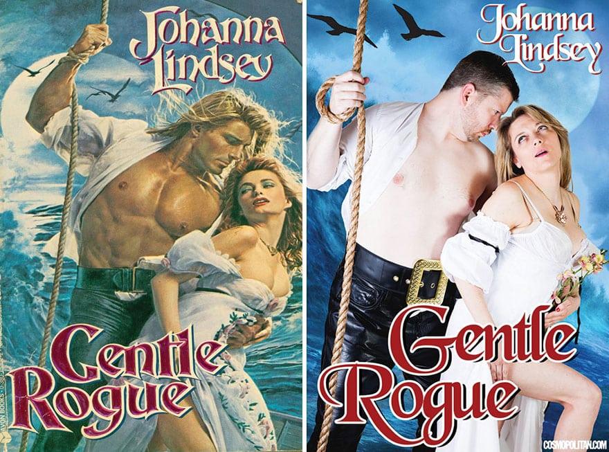 Ремейк обложек популярных романов