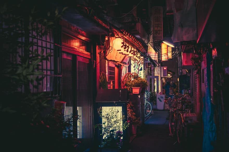 Сказочный ночной Токио