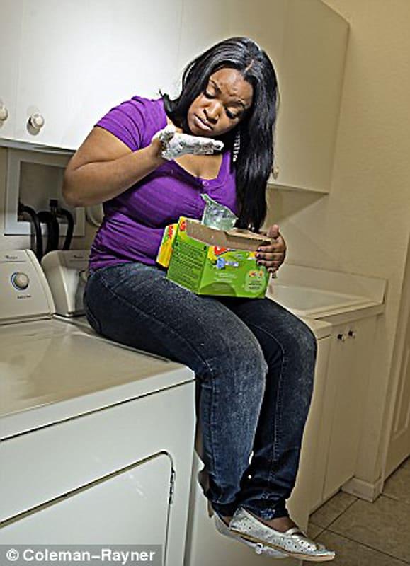 Поедание стирального порошка