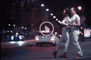 Танец на улице