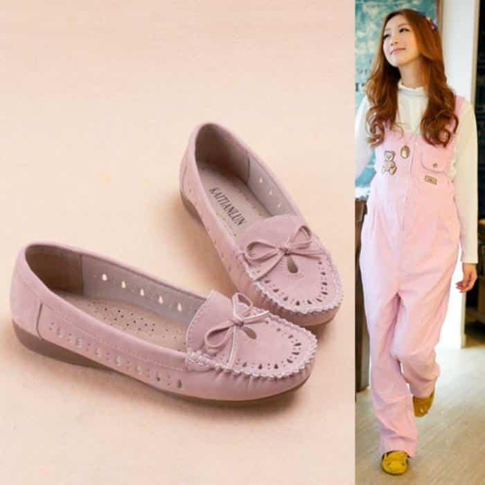 Рекомендованная летняя обувь для беременных