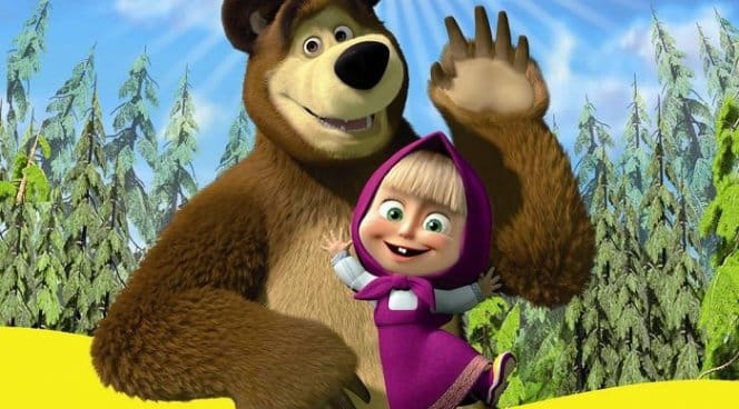 Маша и Медведь привет передают