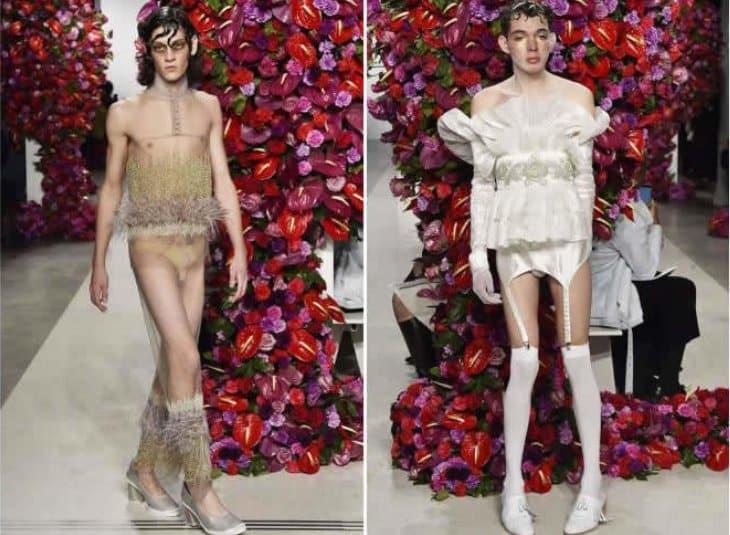 Неделя мужской моды в Нью-Йорке
